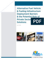 Alternative Fuel Vehicle & Fueling Infrastructure Deployment Barriers & the Potential Role of Private Sector Financial Solutions