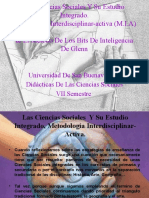 Las Ciencias Sociales Y Su Estudio Integrado