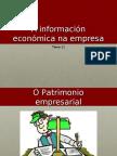 A información económica na empresa