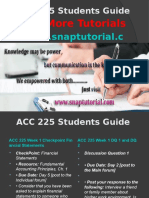 ACC 225 Apprentice tutors/snaptutorial