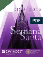 Programa de la Semana Santa de Oviedo_2015