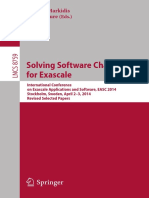 Stefano Markidis, Erwin Laure_ Solving Software Challenges for Exascale 2015