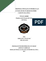 Analisis Proposal Pengajuan Pembiayaan Implan Pada Bank Syariah Mandiri Cabang Salatiga.pdf