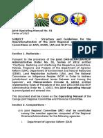 Joint Operating Manual No