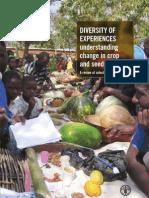 Understanding Change in Crop and Seed Diversity - Part 2