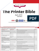 The Printer Bible