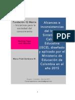 Indice Sinteìtico de Calidad Educativa_MEN_Colombia