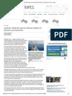 Analysts_ Black Sea Port in Ukraine Still Key to Russia's Naval Interests - News - Stripes