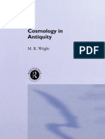 Wright Cosmology in Antiquity
