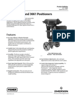 Fisher 3660 and 3661 Positioners