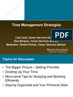 Time Management Strategies for Web