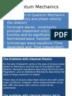 Quantum Mechechanics