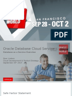 CON7847 Oracle Database Cloud Service Overview v7.0 (OOW)