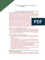 Roteiro de Estudos Educação Ambiental Thiago