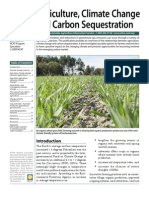 Climate Change and Carbon Sequestration