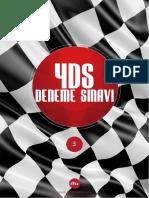 2015 YDS Deneme Sınavı&Kelime Listesi 3