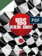 2015 YDS Deneme Sınavı&Kelime Listesi 4