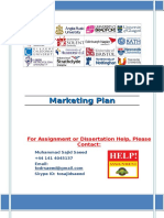 Marketing Plan - Business Strategy