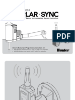 Hunter Wireless SolarSync Manual