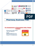 Pharmacy Marketing Plan