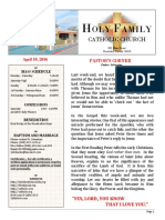 church bulletin 4-10-2016