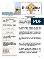 church bulletin 4-17-2016