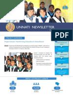 Unnati Newsletter, 2015