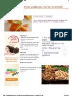 Smoothie de Portocale, Grapefruit Si Morcov