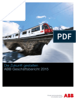 ABB Group Annual Report 2015 German