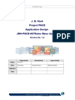Project PACE Design Document