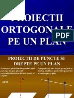 Proiectii Ortogonale Pe Plan