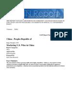 Wine China Taxes
