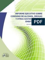 Informe Ejecutivo sobre Consumo de Alcohol, Drogas y otras Sustancias en El Ámbito Laboral