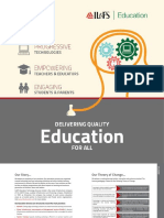 Education Services Brochure