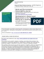Gibbon Dey Article on SROI and SAA - 141211