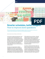 Smarter Schedules Better Budgets How to Improve Store Operations