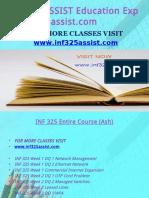 INF 325 ASSIST Education Expert-Inf325assist.com