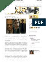 El curioso caso de Benjamin Button. Crítica de Aida Marrón Losada