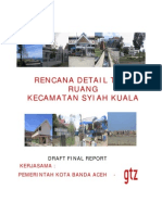 20071114 Rencana Detail Tata Ruang Kecamatan Syiah Kuala