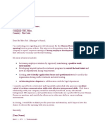 7bc77Sample Job Cover Letter - HR