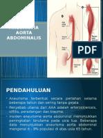 Aneurisma Aorta Abdominalis