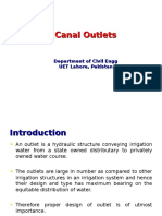 Canal Outlets
