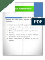20.1 Política Ambiental MODELO