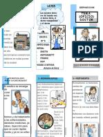 Triptico Doctor pdf