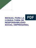 Manual Para La Consultoría de Responsabilidad Social Empresarial