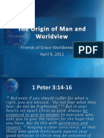 The Origin of Man and Worldview