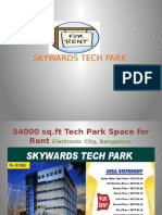54000 sq.ft Tech park space for rent in Electronic city, Bangalore