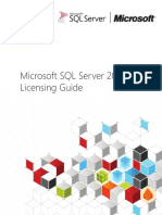 SQL Server 2012 Licensing Reference Guide