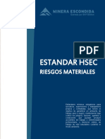 RIESGOS MATERIALES HSEC