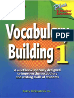 Vocabulary Building Workbook 1